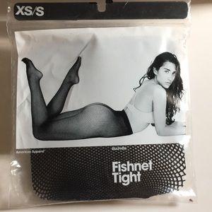 American Apparel NWT Black Fishnet Tight XS/S